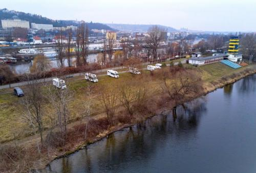Unique river-site location