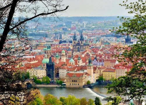 Disfruten de la belleza de Praga